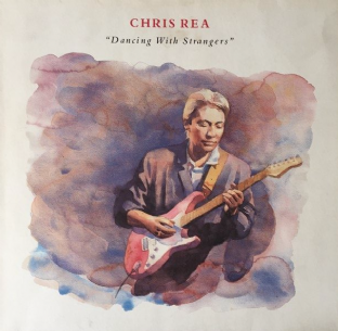 Chris Rea - Dancing With Strangers (LP) (EX/VG) (1)